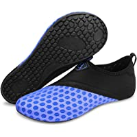 L-RUN Men's Water Sports Shoes Womens Barefoot Quick-Dry Aqua Socks for Swim Beach Pool Surf Yoga