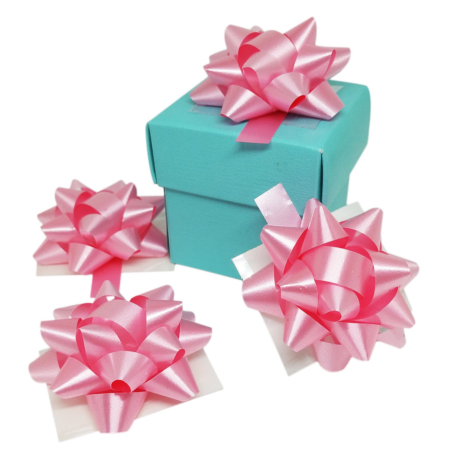 Amazon.com: Favors Boxes- Tiffany Blue Baby Shower Favors Boxes With ...