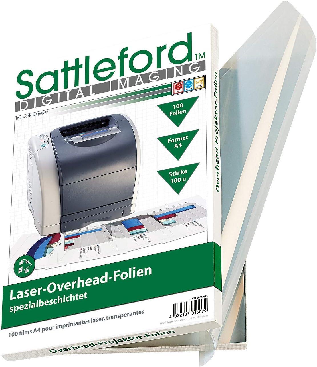 Papierstreife Overheadfolie DIN A3 100 Mic für Farb,-Kopierer und Laserdrucker