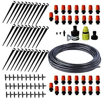 Aqualin Drip Irrigation Kit 25M Goutte A Goutte Arrosage Automatique  Asperseur Pulvérisation au Potager Champ et ff6367308c66