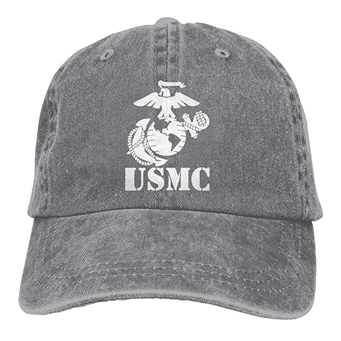 Eagle Globe Anchor USMC Marine Corps Women s Baseball Cap Retro Peaked  Snapback Cap 02e9230e35a