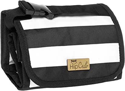 Bottle Bag by Hip Cub - Insulated Baby Bottle Travel Bag Clutch - Holds 4 Bottles