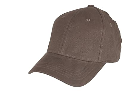 Gorra de béisbol fitall Flex® gr. L/XL Marrón: Amazon.es: Deportes ...