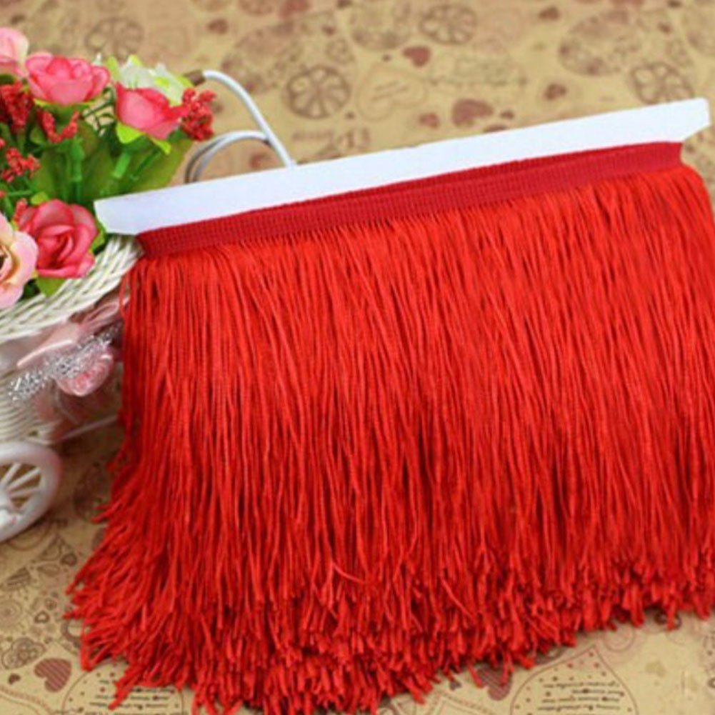 Etbotu Two-wire Tassel, Dense Polyester Fringed Clothing Seam Edge Ornament Accessories