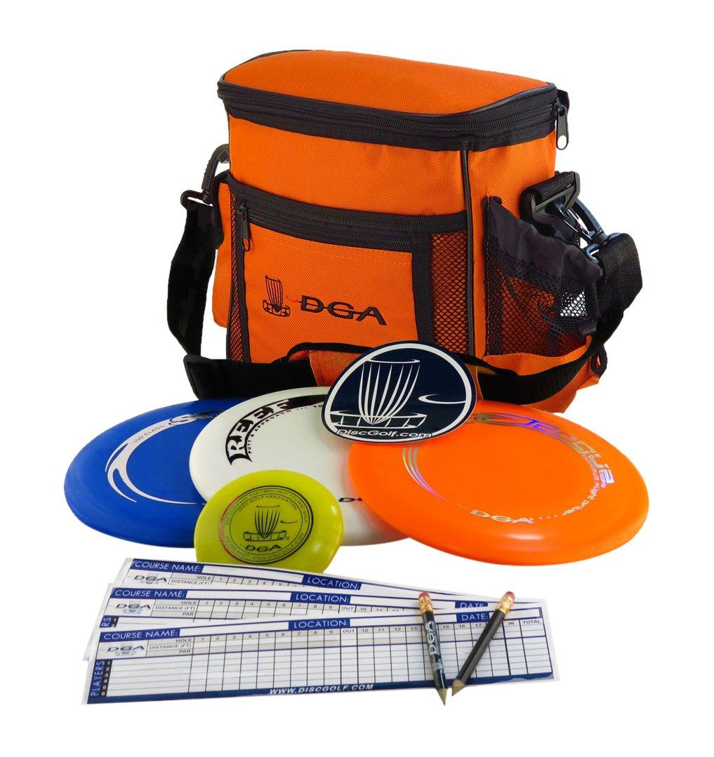 DGA Disc Golf Starter Set Orange
