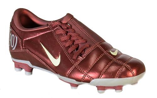 4fe25204ed Nike - Nike Total 90 JR III FG Zapatos Fùtbol Niño Rojo Cuero 308236 -  Rojo
