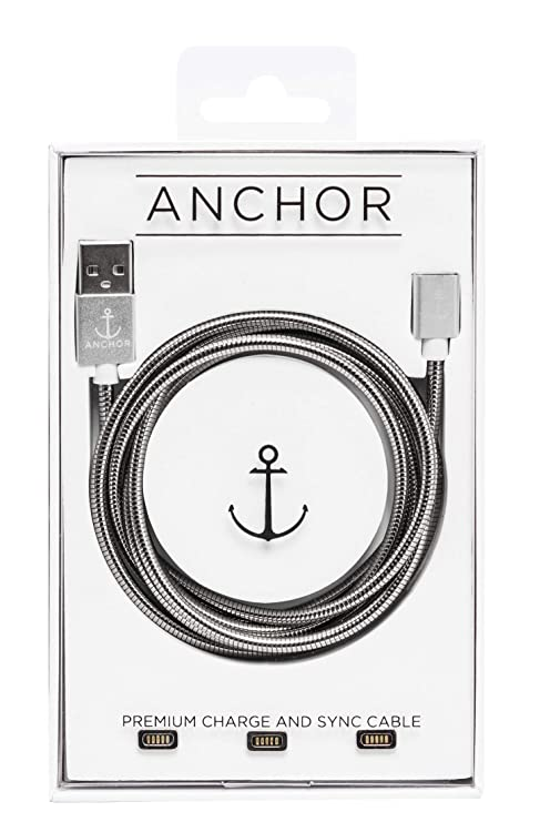 Anchor Cable Stainless Steel Magnetic Usb Charging Cable For I Phones, Android And Other Smart Devices by Anchor Cable