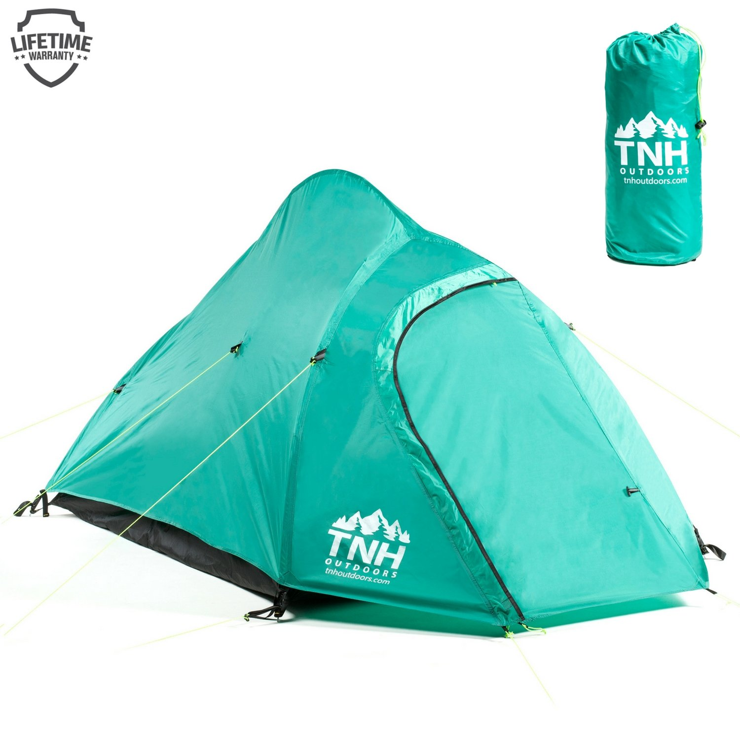 Portable Lightweight Easy Setup Hiking Tent TNH Outdoors 2 Person Camping /& Backpacking Tent with Carry Bag and Stakes