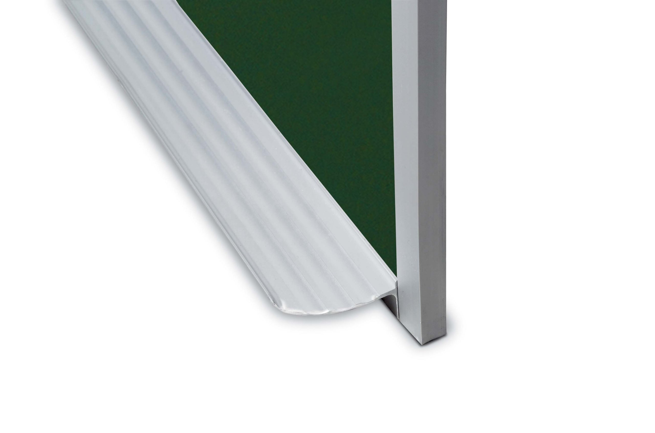 Marsh Pr516-3431-6500 Pro-Rite 60X192 Green Porcelain Chalkboard, Standard With Hanger Bar Aluminum Trim / 1'' Map Rail by Marsh (Image #2)