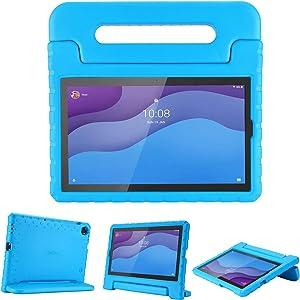 ProCase Kids Case for Lenovo Tab M10 HD 2nd Gen / Smart Tab M10 HD 2nd Gen (TB-X306F TB-X306X), Lightweight Kids Friendly Shockproof Stand Cover Case for Lenovo M10 HD 2nd Gen 10.1