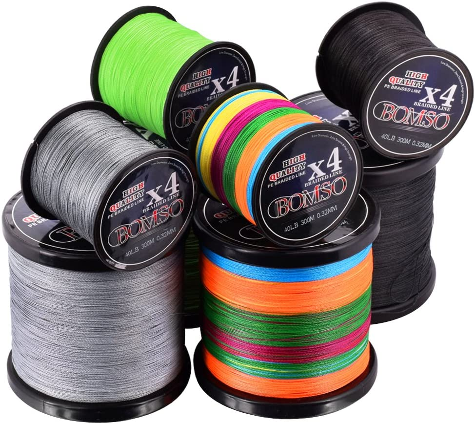 80//45m Strong Dyneema Fishing Line Super Power Fish Lines Wire PE Nylon Line RS