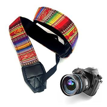 Étnico correa de cámara, jewelvwatchro Pure hecho a mano cámara ...