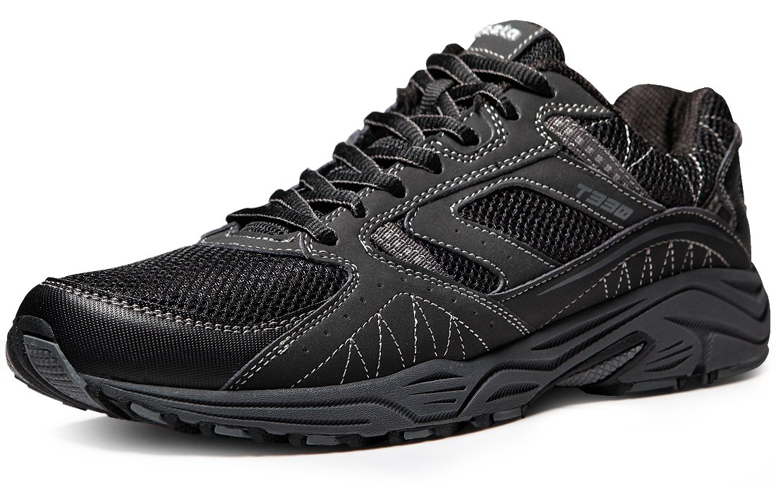 Tesla Men's Outdoor Sneakers Trail Running Shoe T330/T320 B073GJLHVL Men 10.5 D(M)|A1-T330-BLK