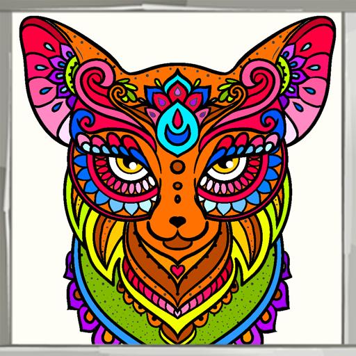 Libro de colorear Animal Mandala: Amazon.es: Appstore para