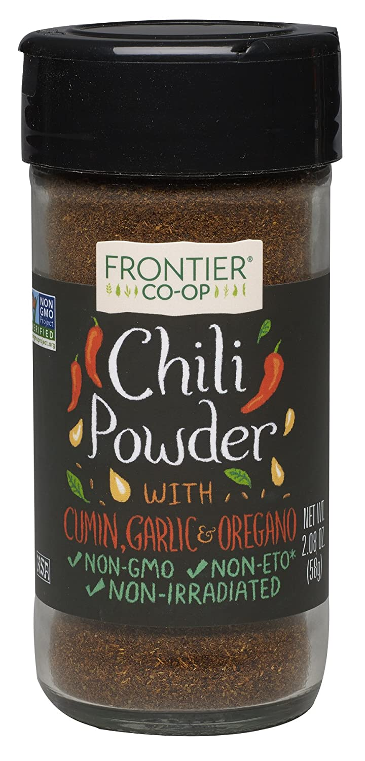 Frontier Seasoning Blends Chili Powder, 2.08-Ounce Bottle