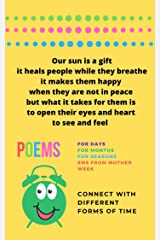 Poems to connect with different forms of time Kindle Edition