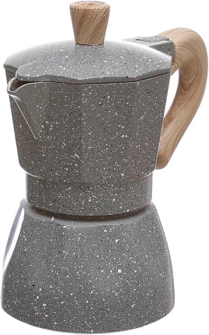 Cafetera con mango efecto madera: Amazon.es: Hogar
