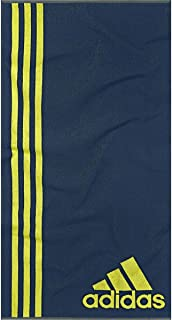 Adidas Towel–Toalla, Color: Azul/Verde