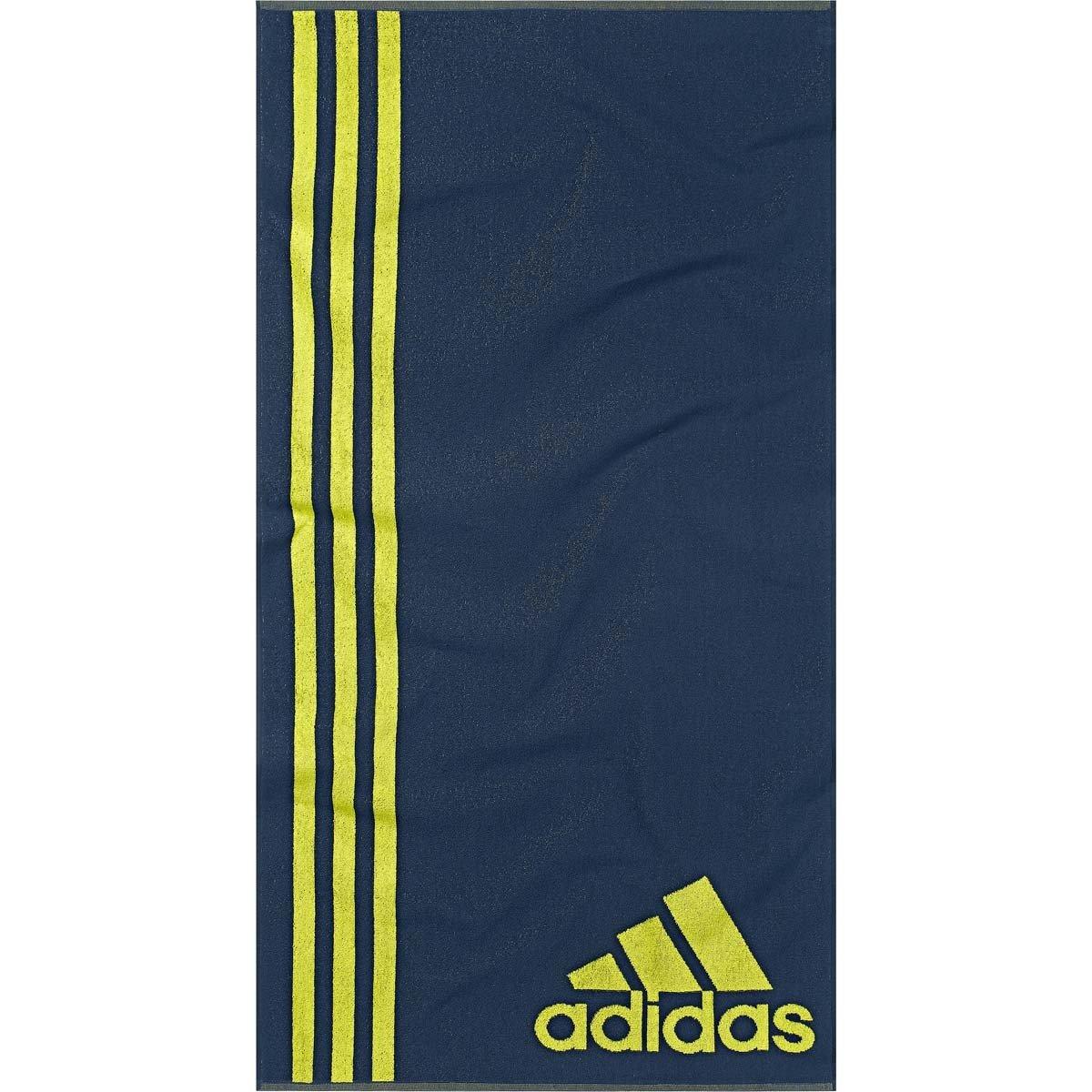 Adidas Towel–Asciugamano, Colore: Blu/Verde Adidas Towel-Asciugamano