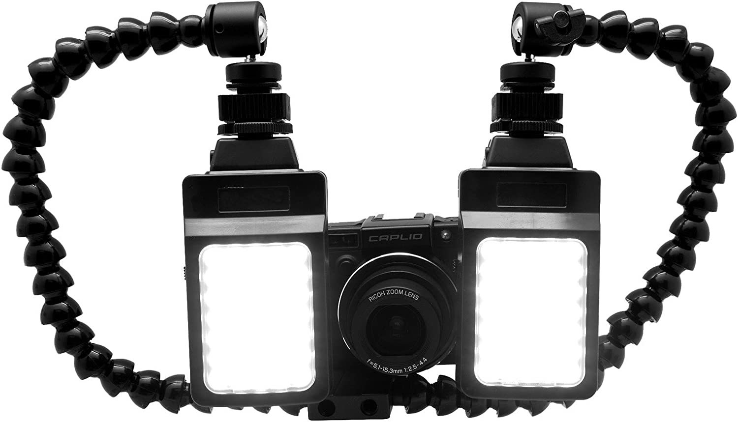 Gadget Place Twin Arms Shoe Mount for Canon PowerShot N100