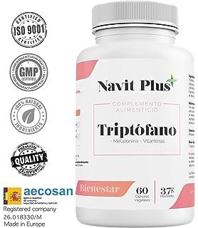 L-Triptófano + magnesio + melatonina + vitamina B6 ...