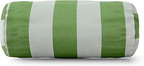 Majestic Home Goods Sage Vertical Strip Round Bolster