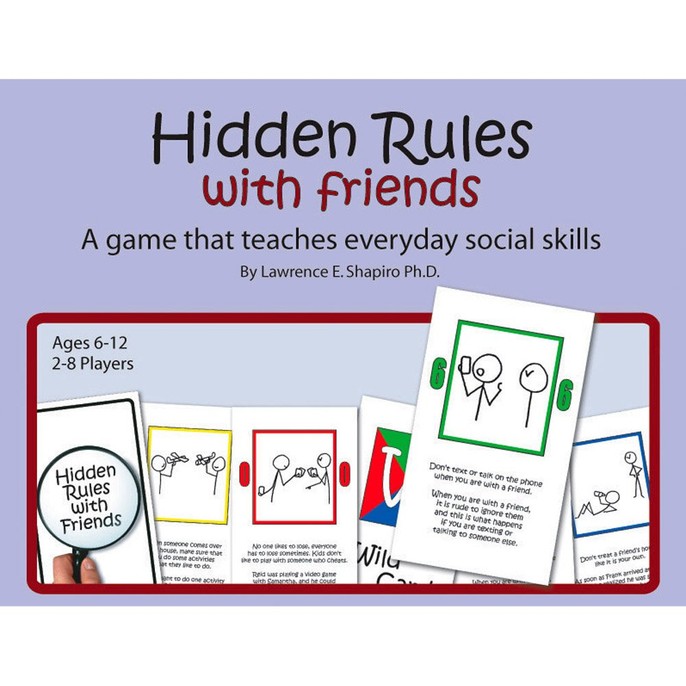 Amazon Com Childswork Childsplay Hidden Rules With Friends Dr
