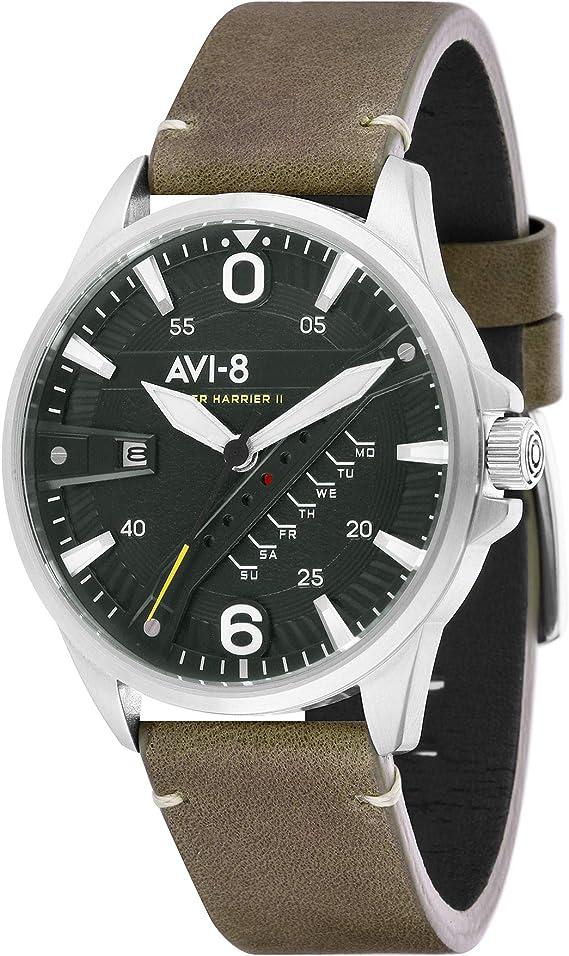 AVI 8 Hawker Harrier II Japan Quartz Watch AV 4055 03