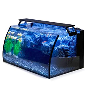 Hygger Horizon LED Glass Aquarium Kit for Starters