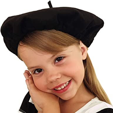 67ae6fe9 Beret Hats for Women and Kids Black French Berets Bulk Lot of 10 Perfect  for Paris