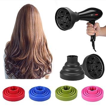 Faltbarer Föhn Diffusor Für Curly Frisuren Welliges Haar