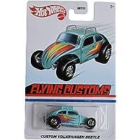 DieCast Hotwheels [Custom Volkswagen Beetle], Ship in Kar Keeper [Flying Customs]