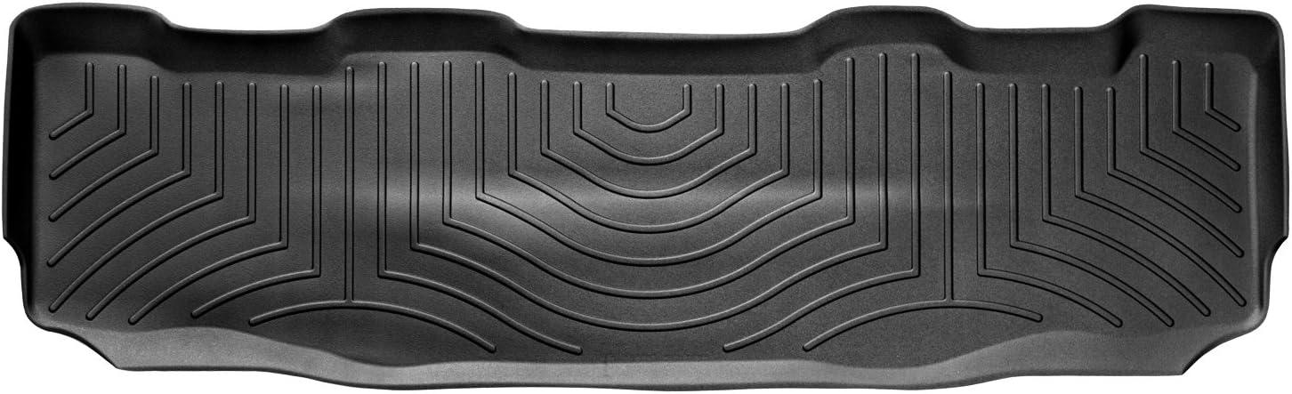Black WeatherTech Custom Fit Front FloorLiner for Select Ford Models
