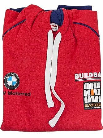 BMW Motorrad - Sudadera con capucha - para hombre rojo rosso extra ...