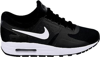 Nike Youth (GS) Air Max Zero Running Shoes BlackDark GreyWhite 881224 002 Size 7