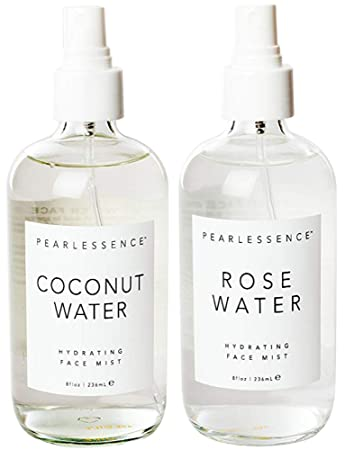 Pearlessence Coconut Water And Rose Water Hydrating Face Mist Combo Pack