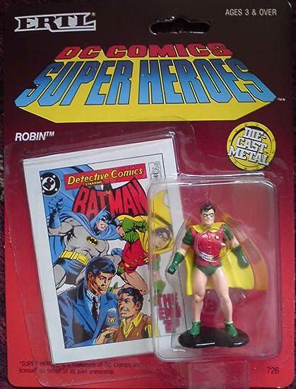 Dc Comics Super Heroes Superman Die Cast Metal Figure Ertl