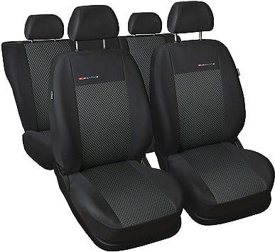 Schwarz-Graue Sitzbezüge für PEUGEOT EXPERT Autositzbezug VORNE NUR FAHRERSITZ