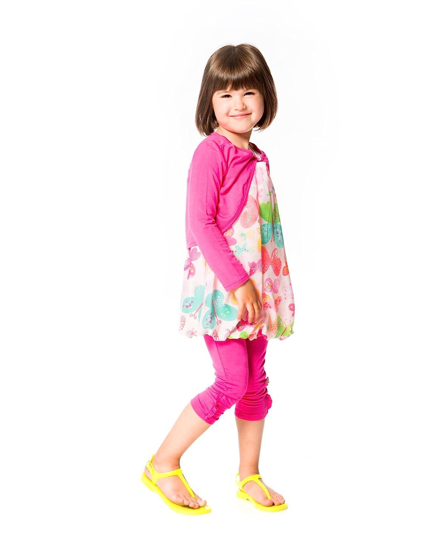 Sizes 18M-6 Deux par Deux Little Girls Jersey Bolero Miss Butterfly