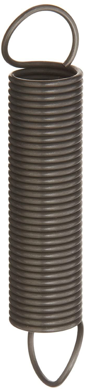 Associated Spring Raymond T32400 Music Wire Extension Spring Steel Metric 22 mm OD 2 mm Wire Size 111 mm Free Length 290 mm Extended Length 107.0 N Load Capacity 0.51 N mm Spring Rate Pack of 10