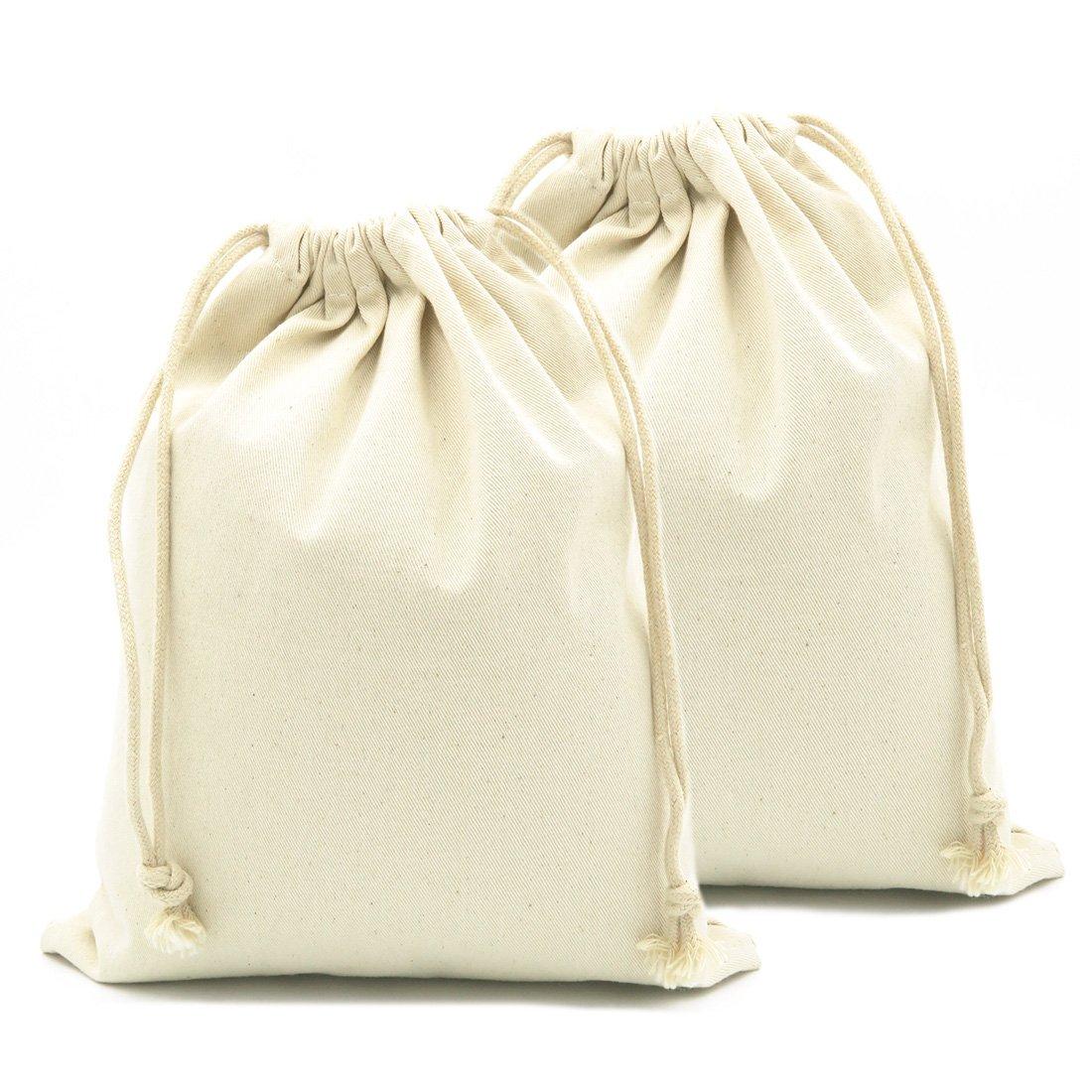 『3年保証』 yingkor 100 Pack 11CS22M %コットンキャンバスモスリン巾着バッグ2 - Pack 100 19x24cm 11CS22M B076XTPHT8 19x24cm, ペーパーアーツ:2562afd8 --- 4x4.lt