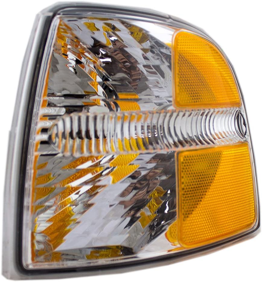 Drivers Park Signal Corner Marker Light Lamp Replacement for Ford SUV Pickup Truck 4L2Z13201AA 1L2Z13201AA