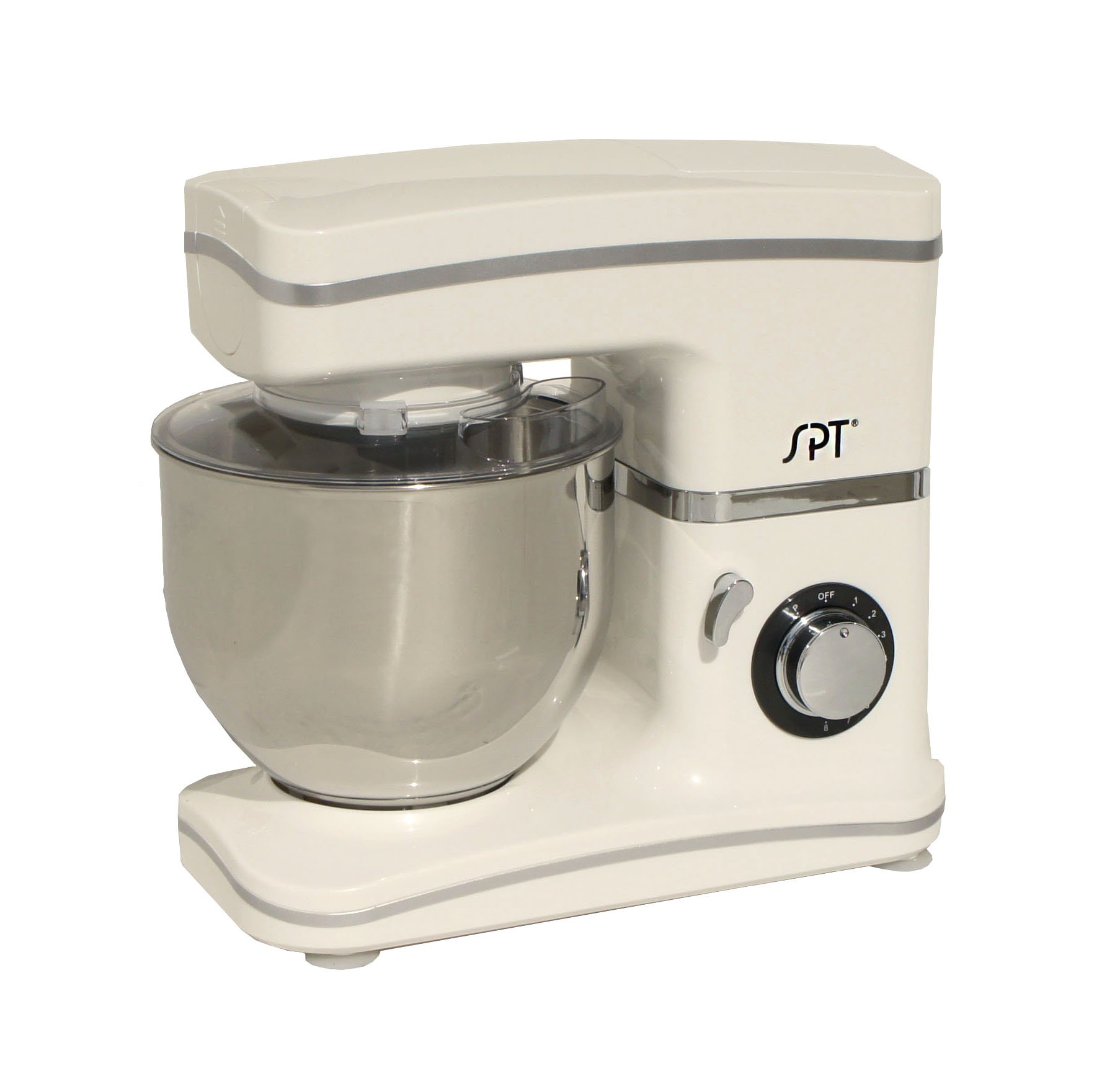 SPT MM-106W White) 8-Speed Stand Mixer, one size,