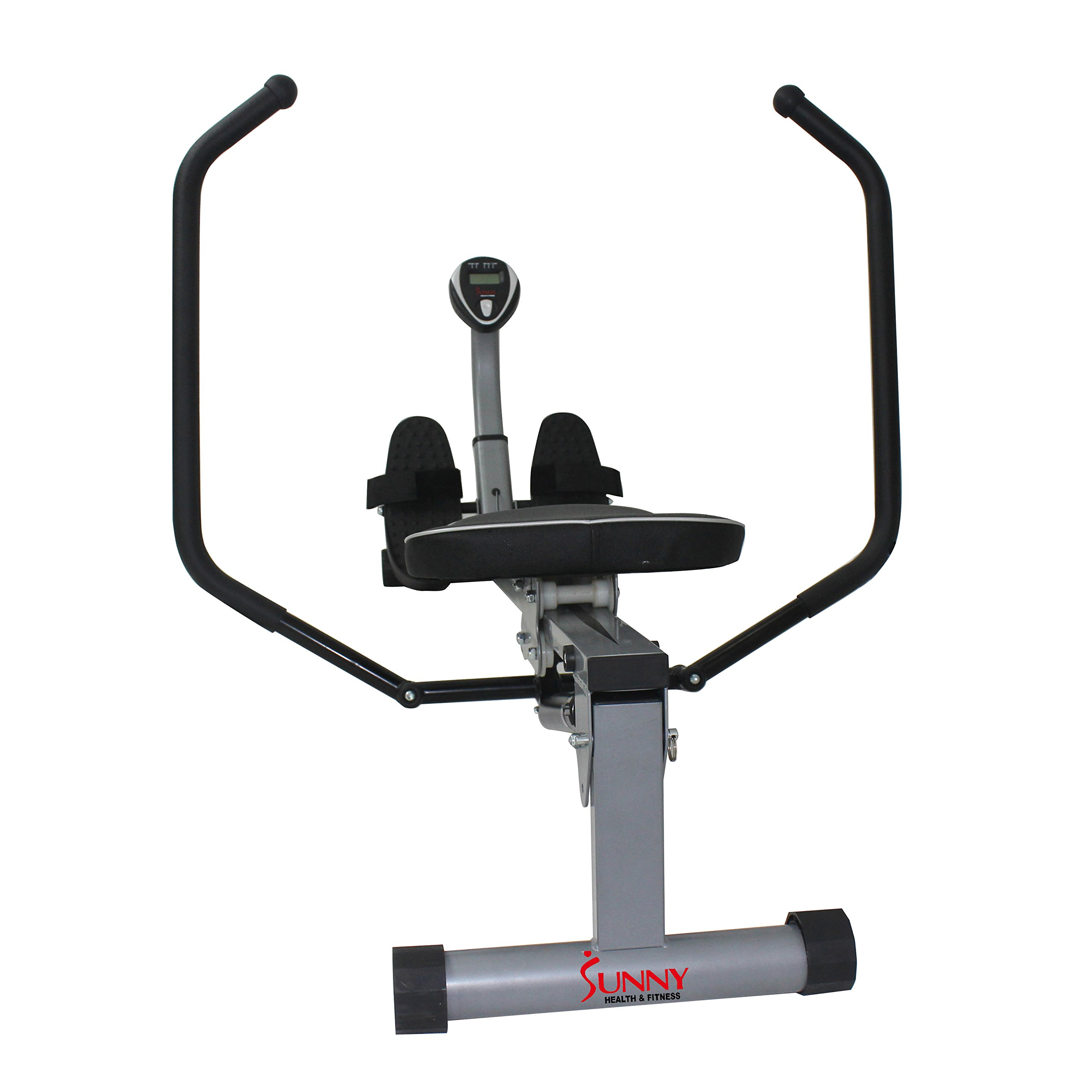 Sunny Health & Fitness SF-RW1410 Rowing Machine Rower with Full Motion Arms and LCD Monitor by Sunny Health & Fitness (Image #10)