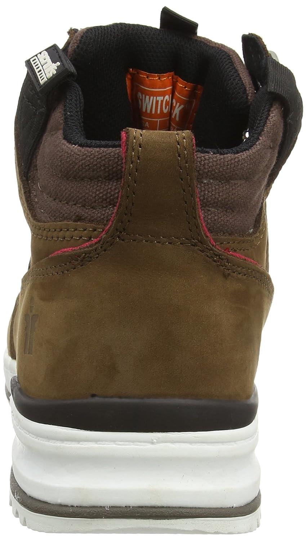 Tan 11 UK Scruffs Switchback Sb-P Men Safety Boots 46 EU Yellow