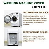 Washing Machine Cover Waterproof Sunscreen