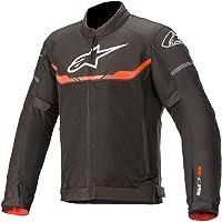 Alpinestars T-SPS Air - Chaqueta textil para moto, color negro y rojo, talla S