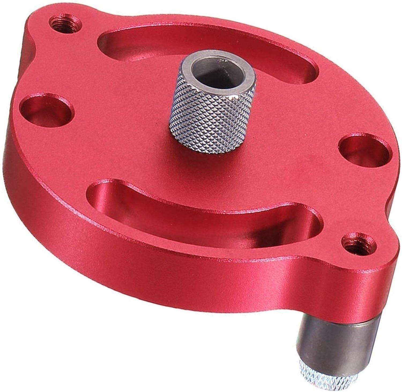 LOMAX Multifunción Instrumento de la Madera, aleación de Aluminio autocentrante Tenon Fixture, Madera máquina Piercing Instrumento de la Madera (Color : Red)
