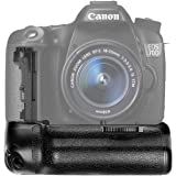 Neewer Battery Grip Holder (Replacement for BG-E14) Work with LP-E6 Battery or 6 Pieces AA Batteries for Canon EOS 70D…