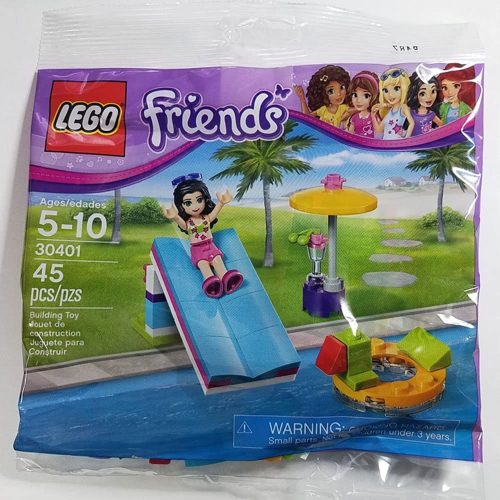 LEGO Friends Pool Foam Slide Mini Set #30401 [Bagged]